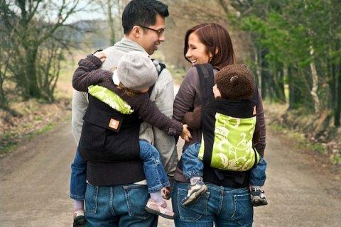 Mochilas bebés espalda