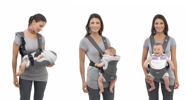 mochila ergonomica para bebe chicco