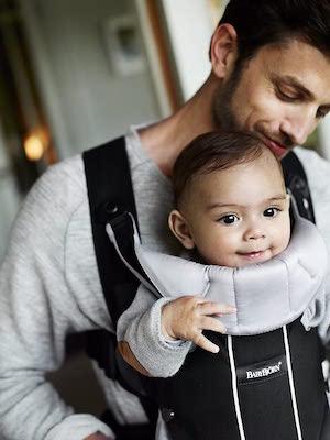 BabyBjörn Mochila Porta Bebé Miracle, Negro y Plata