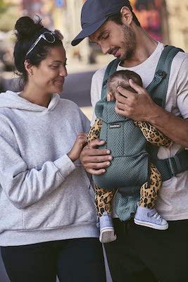 BabyBjörn Mochila porta bebé Move, 3D Mesh