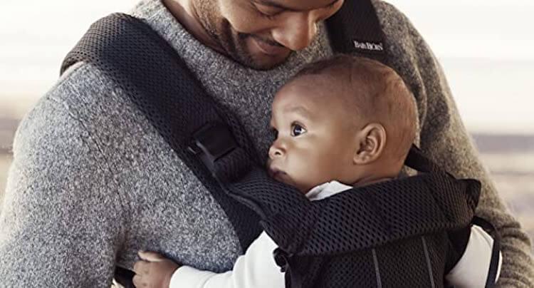 Mochila portabebés Babybjorn One Air: grandes acabados y tejido transpirable