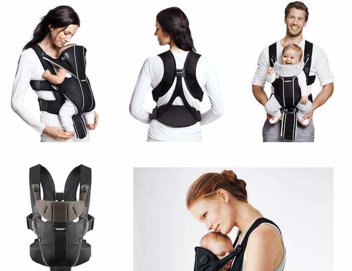 Mochila portabebés Babybjorn Miracle: para recién nacidos y con soporte lumbar