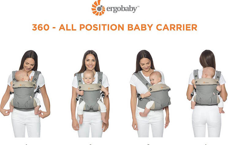Review mochila porta bebe ergobaby 360 cool air mesh