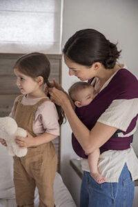 Ergobaby Embrace Mochila Portabebe Ergonomica Recién Nacidos