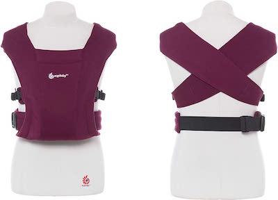 Ergobaby Embrace Mochila Portabebe Ergonomica Recién Nacidos, Extra Suave