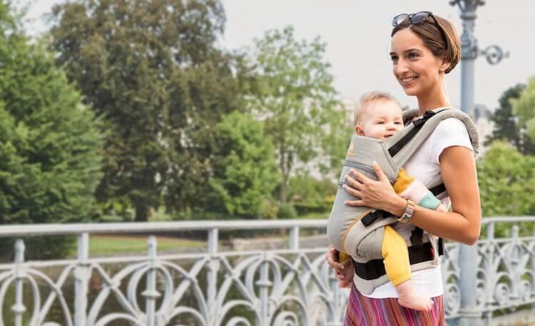 Mochila portabebés Manduca XT: Adaptable hasta los 4 años