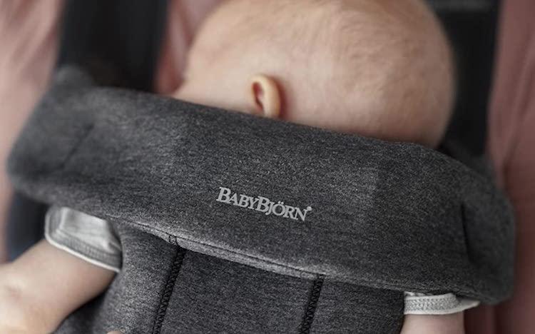 Mochila portabebés Babybjorn mini 3d: Hasta el primer año de tu bebé