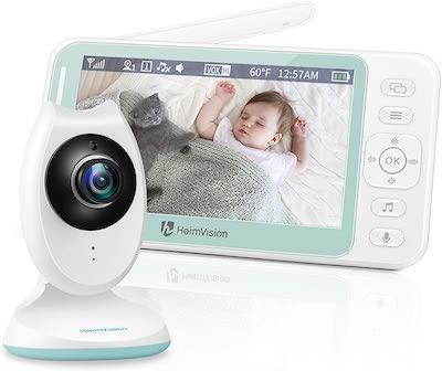 Vigilabebés Inalambrico con Pantalla LCD HD de 4.3 Pulgadas,